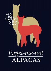 Forget Me Not Alpacas logo